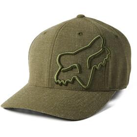 Fox Clouded 2.0 Flexfit Hat Men, olive green